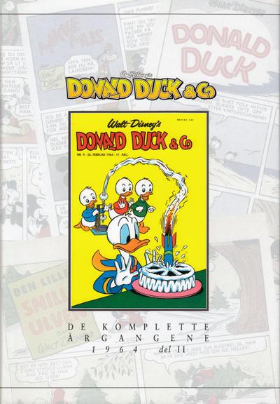 Cover for Donald Duck & Co De komplette årgangene (Hjemmet / Egmont, 1998 series) #[65] - 1964 del 2
