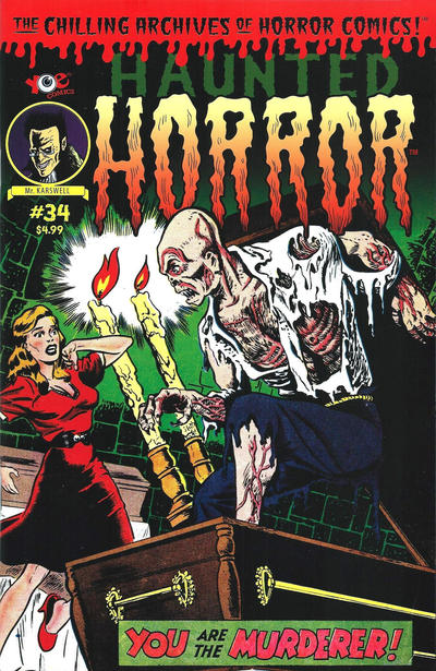 Cover for Haunted Horror (IDW, 2012 series) #34