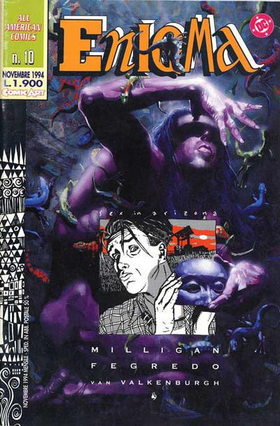 Cover for All American Comics II (Comic Art, 1994 series) #10