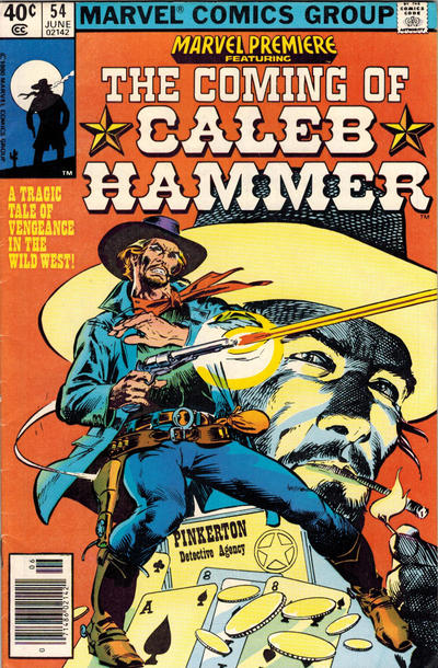 Cover for Marvel Premiere (Marvel, 1972 series) #54 [Newsstand]