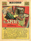 Cover for The Spirit (Register and Tribune Syndicate, 1940 series) #3/14/1943 [Philadelphia Record Edition]
