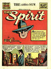 Cover Thumbnail for The Spirit (1940 series) #3/28/1943 [Baltimore Sun Edition]
