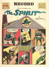 Cover for The Spirit (Register and Tribune Syndicate, 1940 series) #11/14/1943 [Philadelphia Record Edition]