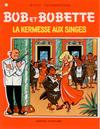 Cover for Bob et Bobette (Standaard Uitgeverij, 1967 series) #77 - La kermesse aux singes