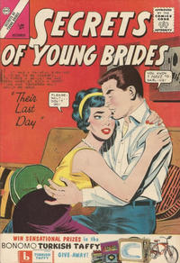 Cover Thumbnail for Secrets of Young Brides (Charlton, 1957 series) #39 [British]