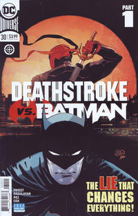 Cover Thumbnail for Deathstroke (DC, 2016 series) #30