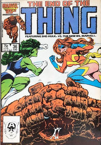 Cover Thumbnail for The Thing (Marvel, 1983 series) #36 [Direct]