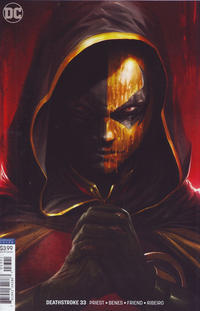 Cover Thumbnail for Deathstroke (DC, 2016 series) #33 [Francesco Mattina Cover]