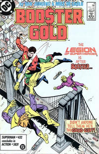Cover Thumbnail for Booster Gold (DC, 1986 series) #8 [Direct]