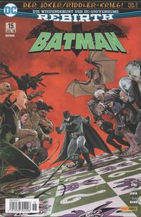 Cover Thumbnail for Batman (Panini Deutschland, 2017 series) #15