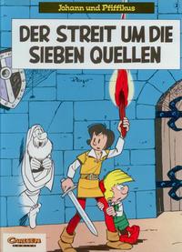 Cover Thumbnail for Johann und Pfiffikus (Carlsen Comics [DE], 1994 series) #2 - Der Streit um die sieben Quellen