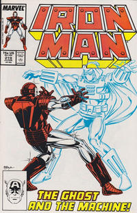 Cover Thumbnail for Iron Man (Marvel, 1968 series) #219 [Direct]