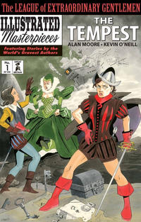 Cover Thumbnail for The League of Extraordinary Gentlemen: The Tempest (Top Shelf Productions / Knockabout Comics, 2018 series) #1