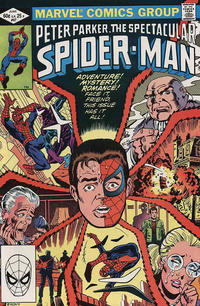 Cover Thumbnail for The Spectacular Spider-Man (Marvel, 1976 series) #67 [Direct]