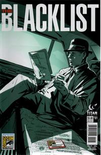 Cover Thumbnail for Blacklist (Titan, 2015 series) #1 [San Diego Comic Con Variant]