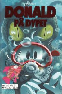 Cover Thumbnail for Donald Duck Tema pocket; Walt Disney's Tema pocket (Hjemmet / Egmont, 1997 series) #Donald på dypet