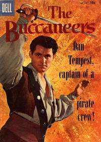 Cover for Four Color (Dell, 1942 series) #800 - The Buccaneers [15¢]
