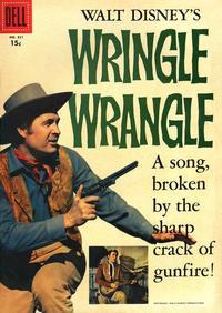 Cover Thumbnail for Four Color (Dell, 1942 series) #821 - Walt Disney's Wringle Wrangle [15¢]