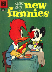 Cover Thumbnail for Walter Lantz New Funnies (Dell, 1946 series) #251 [15¢]