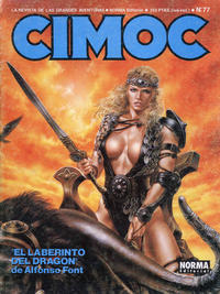 Cover Thumbnail for Cimoc (NORMA Editorial, 1981 series) #77