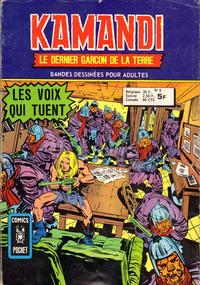 Cover Thumbnail for Kamandi (Arédit-Artima, 1975 series) #8