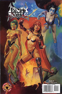 Cover Thumbnail for Trinity Angels (Acclaim / Valiant, 1997 series) #1 [Painted Cover]