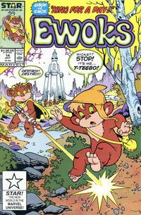 Cover Thumbnail for The Ewoks (Marvel, 1985 series) #14 [Direct]