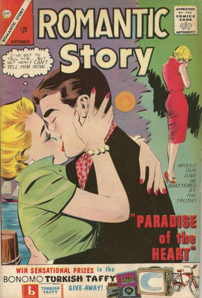 Cover for Romantic Story (Charlton, 1954 series) #68 [British]