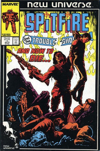 Cover for Spitfire and the Troubleshooters (Marvel, 1986 series) #7 [Direct]