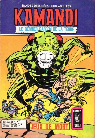Cover for Kamandi (Arédit-Artima, 1975 series) #7
