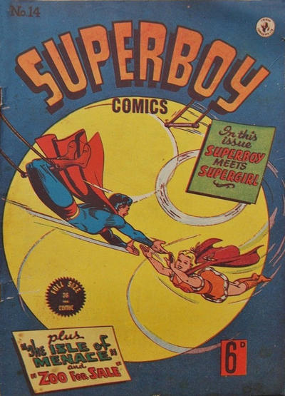 Cover for Superboy (K. G. Murray, 1949 series) #14