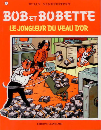 Cover for Bob et Bobette (Standaard Uitgeverij, 1967 series) #67 - Le Jongleur du Veau D'Or