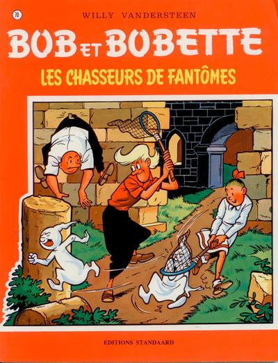 Cover for Bob et Bobette (Standaard Uitgeverij, 1967 series) #70 - Les Chasseurs de Fantômes