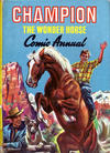 Cover for Champion the Wonder Horse Comic Annual (World Distributors, 1952 series) #[1959]