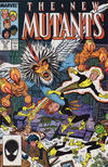 Cover for The New Mutants (Marvel, 1983 series) #57 [Direct]