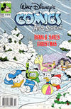 Cover for Walt Disney's Comics and Stories (Disney, 1990 series) #556 [newsstand]