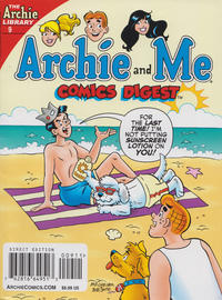 Cover Thumbnail for Archie and Me Comics Digest (Archie, 2017 series) #9