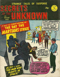 Cover Thumbnail for Secrets of the Unknown (Alan Class, 1962 series) #222