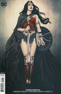 Cover Thumbnail for Wonder Woman (DC, 2016 series) #50 [Jenny Frison Variant Cover]