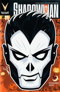 Cover Thumbnail for Shadowman (Valiant Entertainment, 2012 series) #11 [Cover B - Halloween Mask - Rian Hughes]