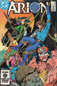 Cover Thumbnail for Arion, Lord of Atlantis (DC, 1982 series) #20 [Direct]
