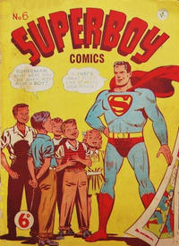 Cover Thumbnail for Superboy (K. G. Murray, 1949 series) #6