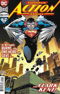 Cover Thumbnail for Action Comics (DC, 2011 series) #1001 [Patrick Gleason Cover]