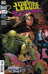 Cover Thumbnail for Justice League Dark (DC, 2018 series) #1 [Alvaro Martinez Bueno & Raul Fernandez Cover]