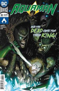 Cover Thumbnail for Aquaman (DC, 2016 series) #38 [Stjepan Šejić Cover]