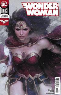 "Cover Thumbnail for Wonder Woman (DC, 2016 series) #51 [Stanley ""Artgerm"" Lau Cover]"