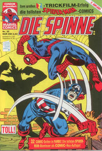 Cover Thumbnail for Die Spinne (Condor, 1987 series) #35