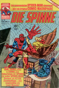 Cover Thumbnail for Die Spinne (Condor, 1987 series) #12