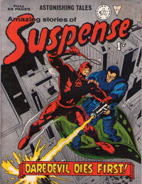 Cover Thumbnail for Amazing Stories of Suspense (Alan Class, 1963 series) #91