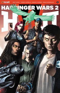 Cover Thumbnail for Harbinger Wars 2 (Valiant Entertainment, 2018 series) #3 [Cover B - Mico Suayan]